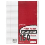 FILLER PAPER COLLEGE RULED 150CT 10.5X8