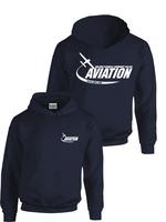 Hoodie New Aviation BLK S