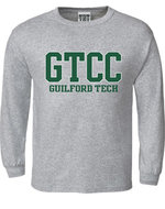 Long Sleeve Youth Tee GTCC Guilford Tech design